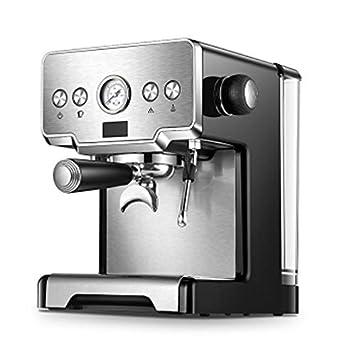 LJHA kafeiji Máquina de café, máquina de café Espresso máquina de café semiautomática máquina de Vapor Leche máquina de Hacer ...
