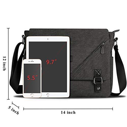 71bb424ad4e1 ibagbar Water Resistant Messenger Bag Satchel Shoulder - Import It All