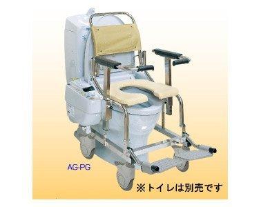 シャワーキャリーAG 4輪キャスタータイプ 樹脂ダブルロック/ No.5322 AG-PG   B0030FJZPS