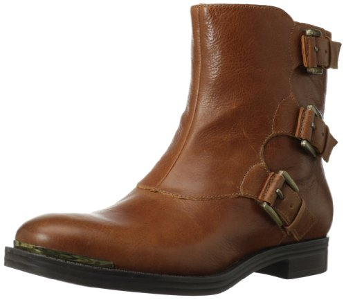 Enzo Angiolini Women's Elliot Boot Dark Natural Leather p4mUwO5E