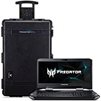 Acer Predator 21 X Gaming Laptop, Intel Core i7, GeForce GTX 1080 SLi, 21 Curved  2000R Full HD, 64GB DDR4, 1TB PCIe SSD, 1TB HDD, with 21X Protective Travel Case, GX21-71-76ZF