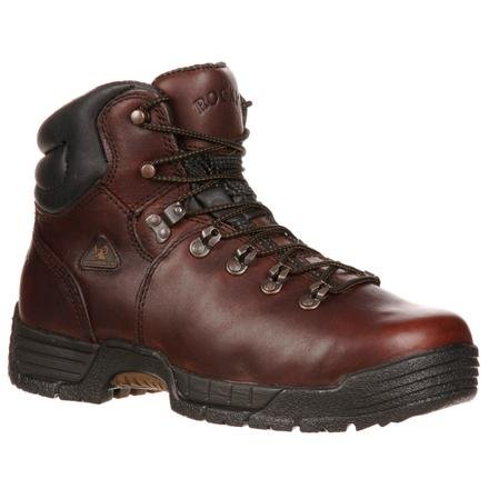 Rocky Men's Mobilite Six Work Boot,Brown,16 M US