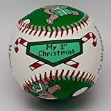 Child to Cherish Unforgettaballs by Emily Wolfson Child Baby's First My 1st Christmas Baseball