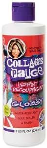 New - Aleene's Collage Pauge Instant Decoupage Gloss-8 O by WMU