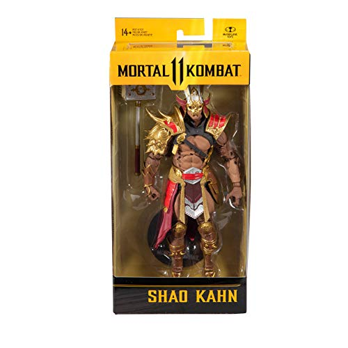 McFarlane - Mortal Kombat 7 Figures 5 - Shao Khan