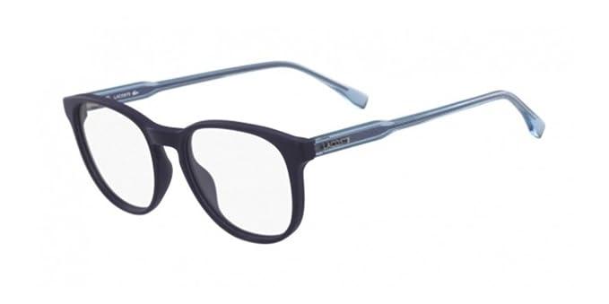 Lacoste L2811 424 52, Monturas de Gafas Unisex-niños, Matte Bluee