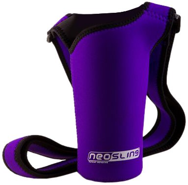 (NEOSLING, Adjustable Neoprene Bottle Holder, Violet)
