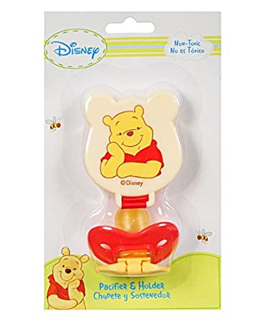 Amazon.com : Winnie the Pooh Pacifier & Clip Set : Baby