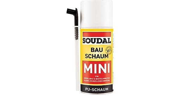 Diseño Espuma Mini, selbstexpandierender Poliuretano espuma rígida para modelo de construcción y manualidades, lata: 150 ml: Amazon.es: Bricolaje y ...