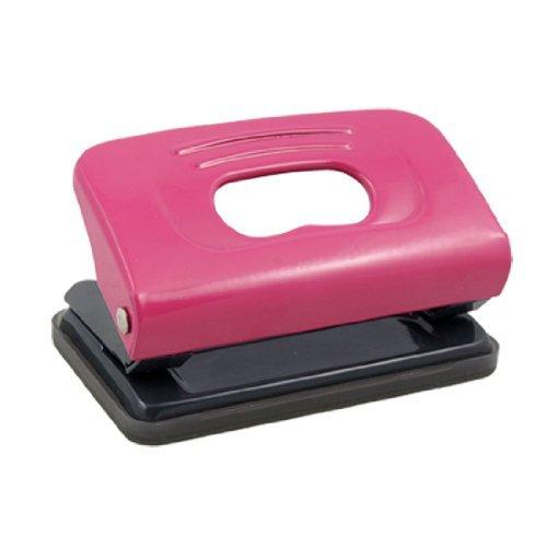 Amazon.com: eDealMax Los pequeños de Metal 2 agujeros sacador del Papel de escritorio, Fucsia gris: Home & Kitchen