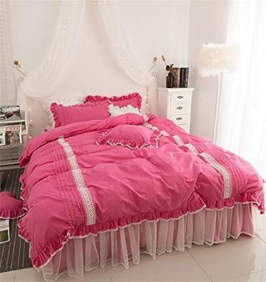 Juego de sábanas de Cuatro sábanas de algodón, algodón, Funda ...