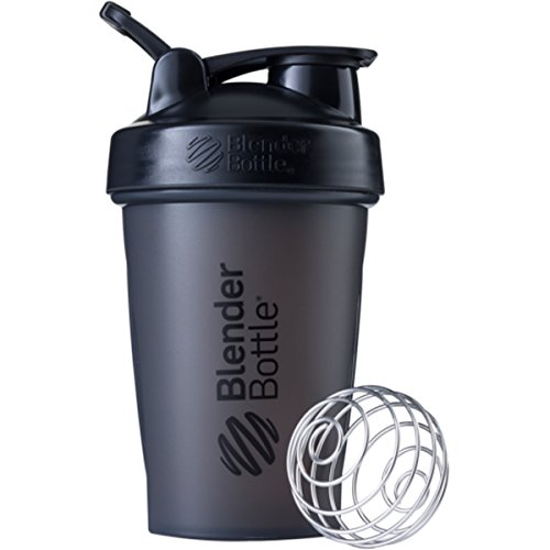 Blender Bottle Classic 20 oz. Shaker with Loop Top - Black/Black