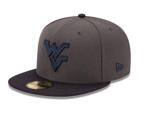 NCAA Stock West Virginia Mountaineers Cap, 800, Gray