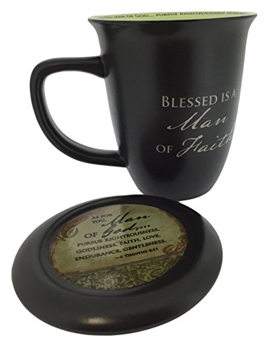 Man of Faith Mug & Coaster Set