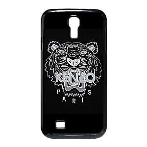 Kenzo tigre suéter Galaxy S4 negro L3D42P5XS funda Samsung 9500 caso funda 86R7JK negro