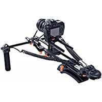 Movo Photo MFF300 Motorized Follow Focus and Zoom Control Video Shoulder Rig for HD DSLR Cameras