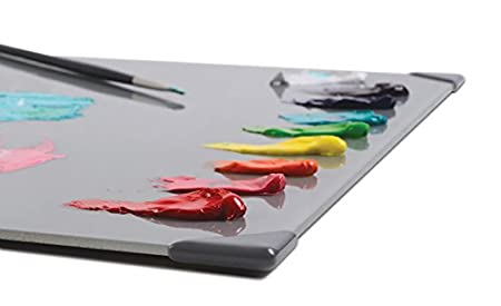 Clear New Wave POSH Glass Artist Palette 9x12 Multiple Colors + Sizes Available