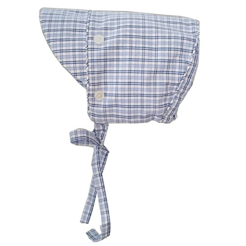 Huggalugs Baby & Toddler Boys Gents Plaid Bonnet UPF 50+ 6-12