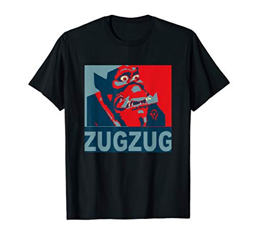 Zug Zug Classic wow gaming gamer gift RP Role Playing MMO T-Shirt