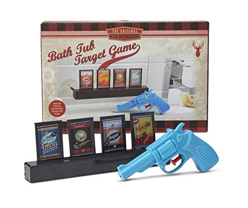 - Shopefied Bath Tub Water Pistol Target Game for Boys Girls Kids