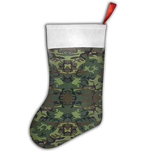 Girdsunp Conventional Stockings - Greens, Brown, and Black Military Camouflage to Print Andiron Adornment,Funny Socks -