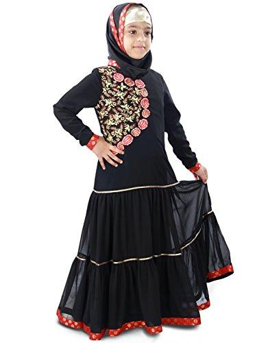 MyBatua-Aamilah-Party-Eid-Wear-Baby-Abaya-Dress-AY-407-K