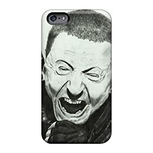 Shock-Absorbing Hard Cell-phone Case For Iphone 6 (nLd1070fzcD) Custom Realistic Linkin Park Image