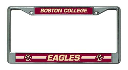 Rico Industries NCAA Boston College Eagles Chrome Plate Frame