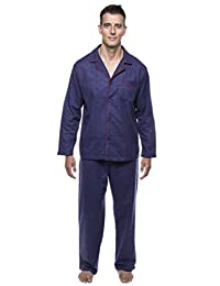Twin Boat Men's 100% Cotton Flannel Pajama Set