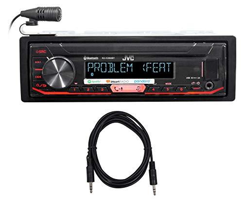 JVC KD-X260BT Car Digital Media Bluetooth Receiver iPhone/An