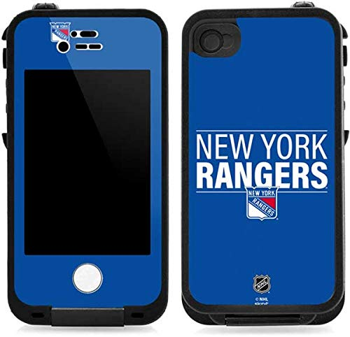 Skinit New York Rangers Lineup LifeProof iPhone 4/4s Skin for CASE - Officially Licensed NHL Skin for Popular Cases Decal - Ultra Thin, Lightweight Vinyl Decal Protection (New York Rangers Iphone 4 Case)