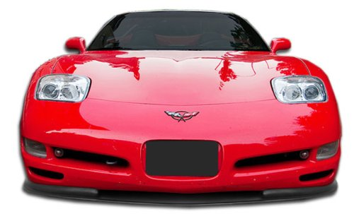 Duraflex Replacement for 1997-2004 Chevrolet Corvette C5 Vortex Front Lip Under Spoiler Air Dam - 1 Piece