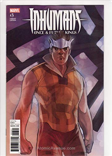 Inhumans: Once and Future Kings #3A VF/NM ; Marvel comic book ()