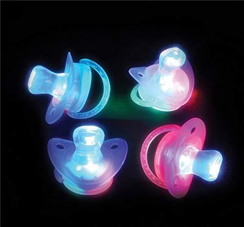 Light Up Pacifier (Rhode Island Novelty Light-up Joke Pacifiers, 1)