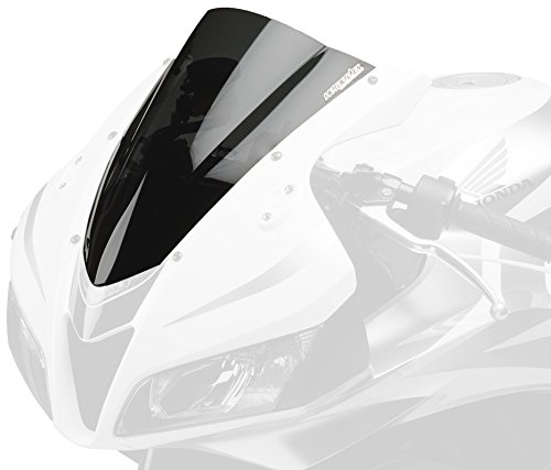 Hotbodies Racing H076RR-WGP-SMK Dark Smoke Dual Radius GP Windscreen