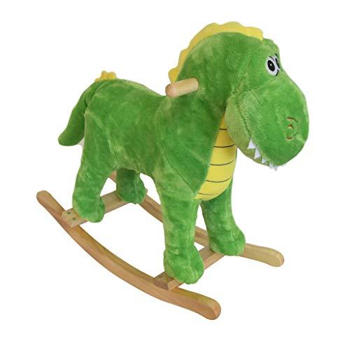 Vaiven Dinosaurio balancín de Madera