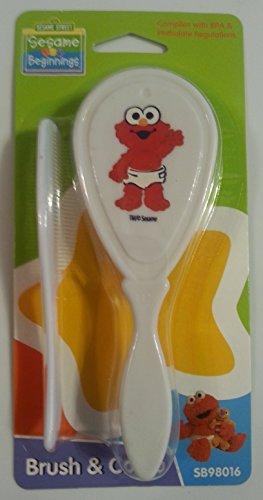 Sesame Street Beginnings - Baby Elmo Brush & Comb