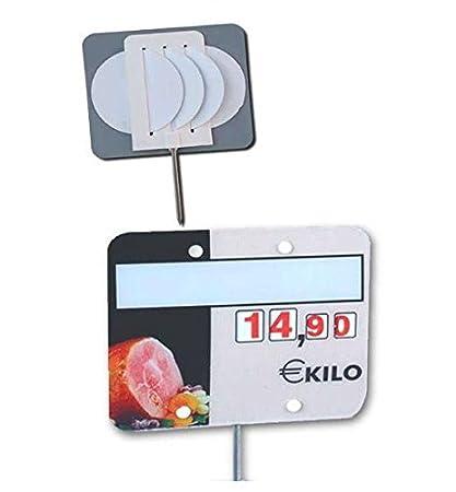 Cartel porta precios charcutería (lote 30 carteles): Amazon ...