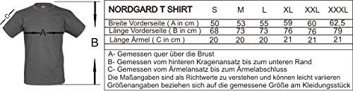 """NORDGARD SHIRT """"WILDE HORDE"""" Wikinger Shirt für Damen und Herren des Modelabels Nordgard"""