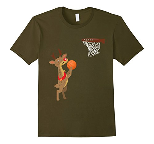 Basketball Player Costume Men (Mens Perfect Costume For Basketball Player. Gift For Son/Daughter XL Olive)