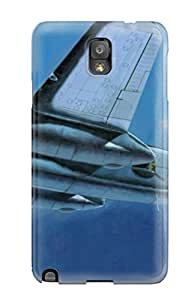 Premium Durable Aircraft Fashion Tpu Galaxy Note 3 Protective Case Cover Sending Screen Protector in Free