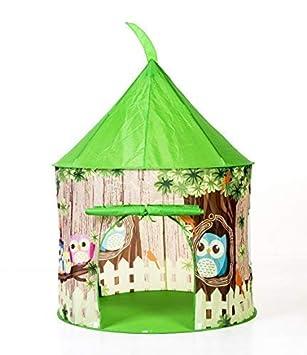 462c86276 Tienda Infantil Campaña Búho - Casa de Juego para Niños de 3 a 6 años -