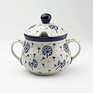 Polish Pottery Sugar Bowl – Dandelion