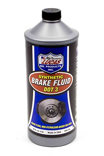 Lucas Oil Products LUC10826 Dot 3 Brake Fluid, 1 quart, 1 Pack by Lucas Oil