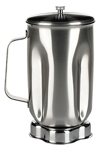 Waring SS610 SS Container with SS Lid for 1 L Capacity Blender, Stainless Steel