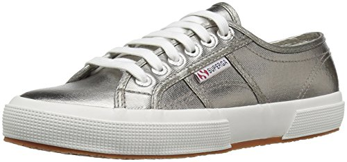 Superga Women's 2750 Cotmetu Fashion Sneaker, Grey, 36 EU / 5 M Women's US