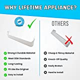 Lifetime Appliance 240338101 Door Shelf Bin Rack