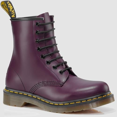 Dr. Martens 1460 Re-Invented 8 Eye Lace Up Boot,Purple Sm...