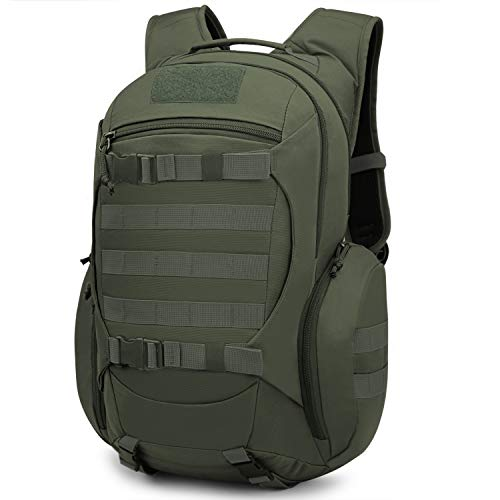 Mardingtop 28L Tactical Backpacks Molle Hiking daypacks for Camping Hiking Military Traveling 28L-Army Green