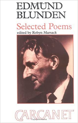 Edmund Blunden: Selected Poems by Edmund Blunden (1984-10-01)